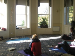Yoga room, Clevedon