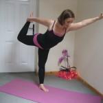 Yoga poses Dad 20th July 2012 089